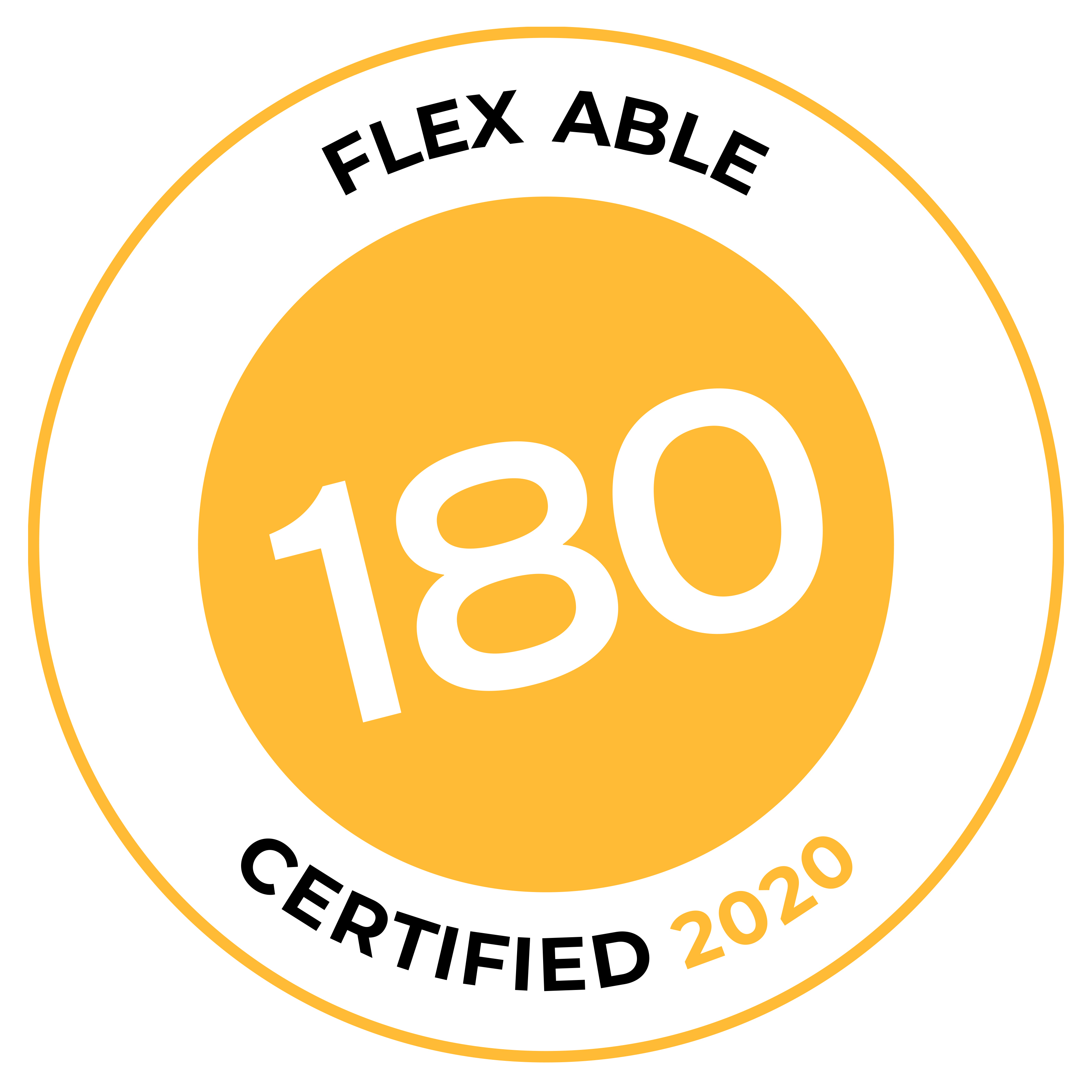 Flex Able Certification Badge