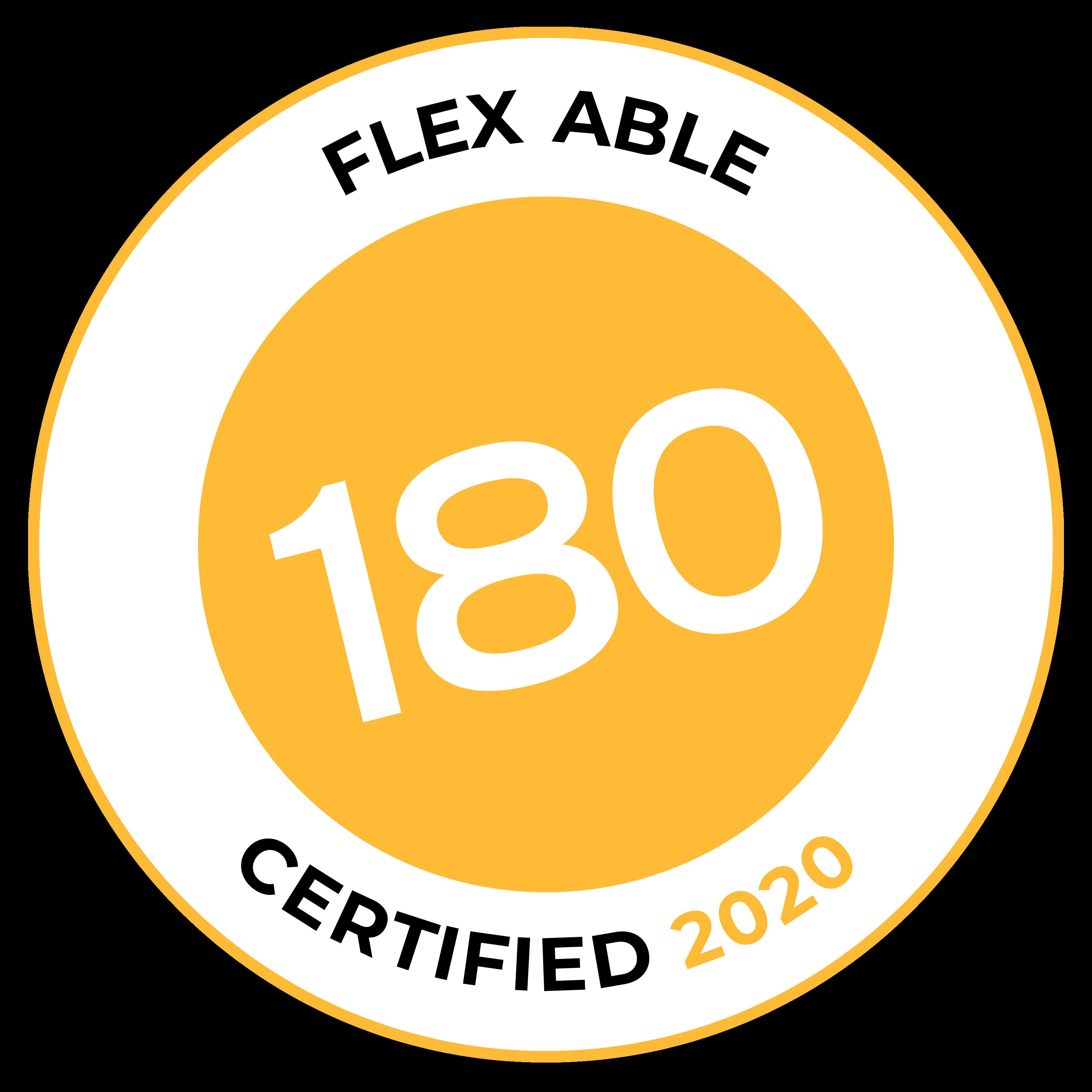 Flex Able Certification Badge