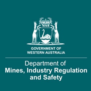 Department of Mines, Industry, Regulations and Safety logo